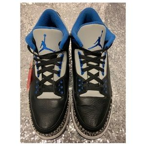 "Air Jordan 3 Retro ""Sport Blue"" Sz 10US"